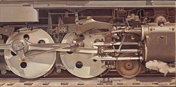 Charles Sheeler, Rolling Power