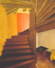 Charles Sheeler, Staircase, Doylestown