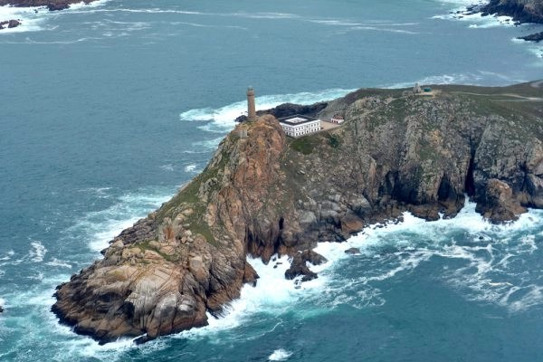 Faro Cabo Vilán Aérea