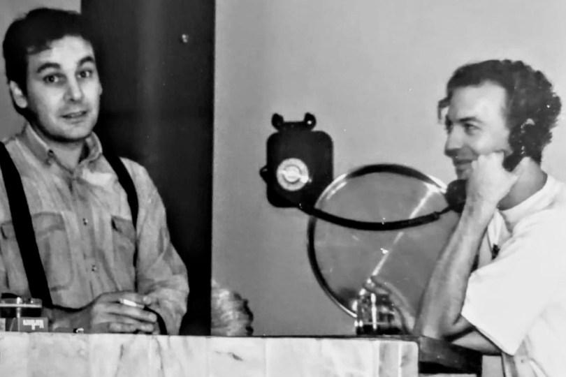 Luismi y Octavio en los primeros días del Pandora