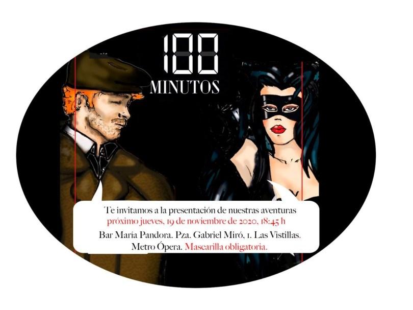 100 Minutos invitación