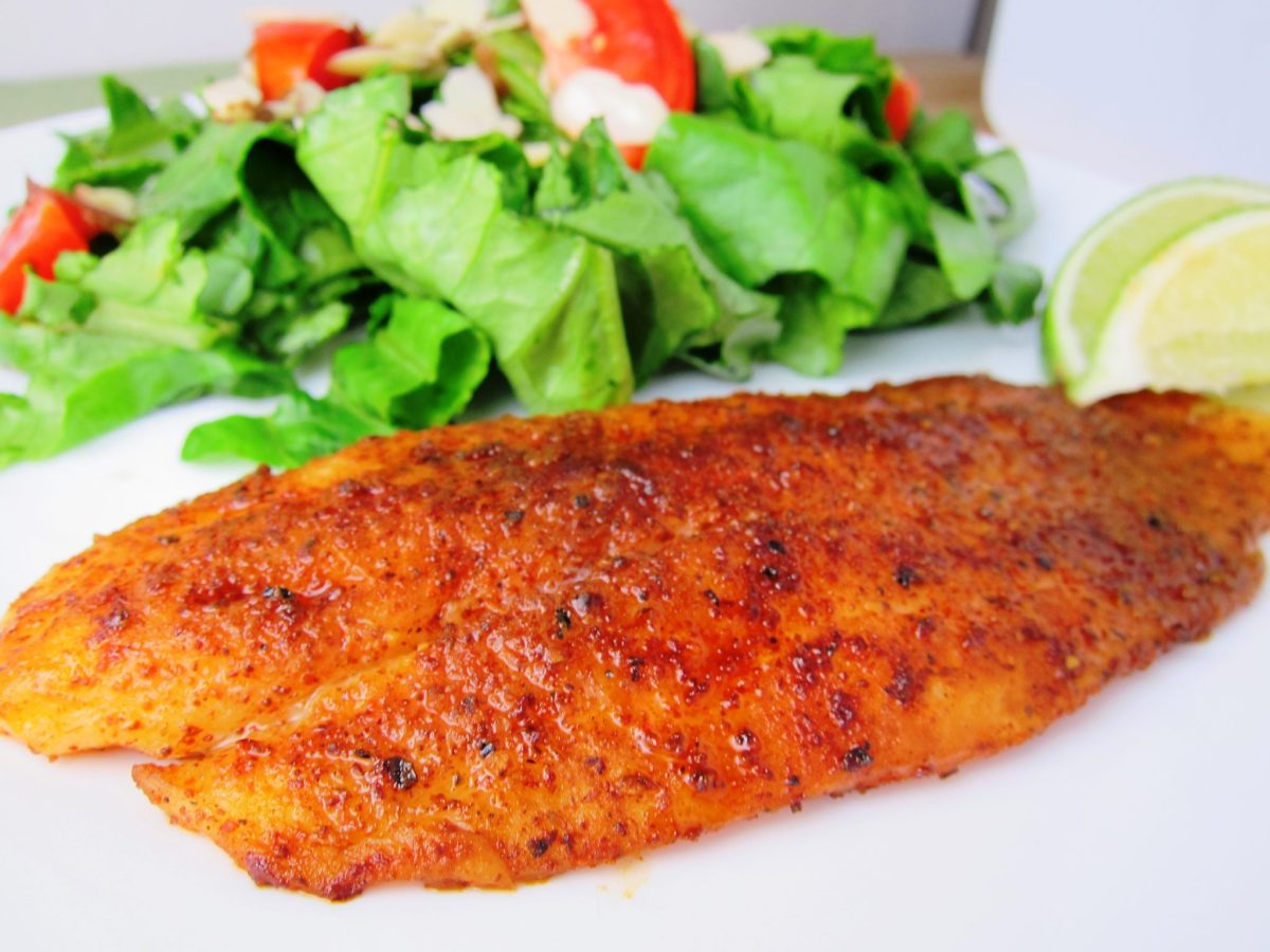 10 Minute Chili Lime Swai Fillets