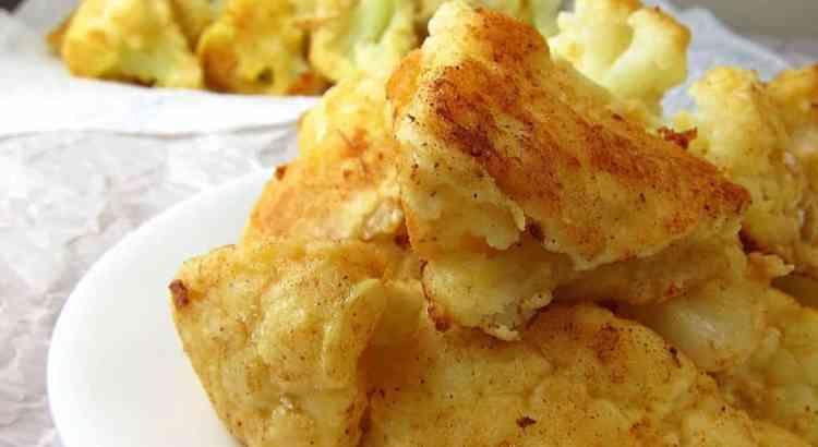 pan fried cauliflower