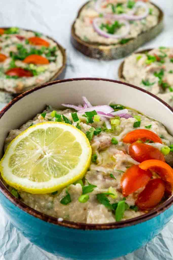Zesty White Bean Spread