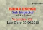 Bihar Excise 2018 SI bharti