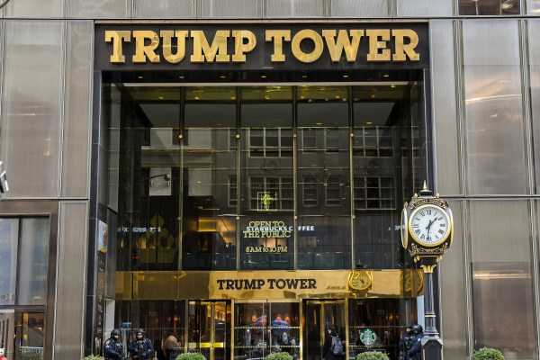 When Morak Met Trump At The Tower , by Morak Babajide-Alabi