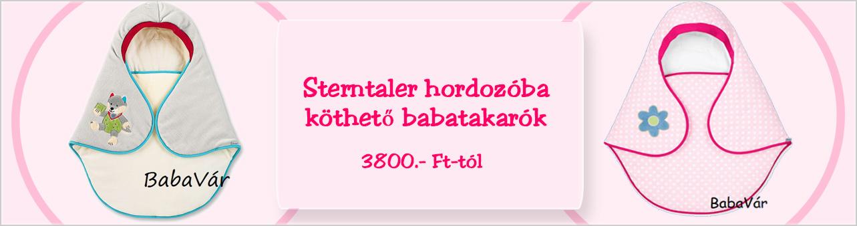 Sterntaler hordozóba köthető babatakaró