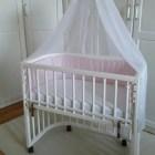 BabyBay Comfort  bölcső Fehér
