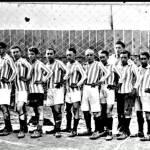 Првиот фудбал во Битола...