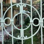 Дворот од куќата на фамилија Османли...ретро