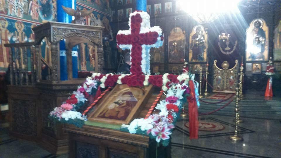 Моментална Велигденска декорација во црквата св.Богородица (галерија)