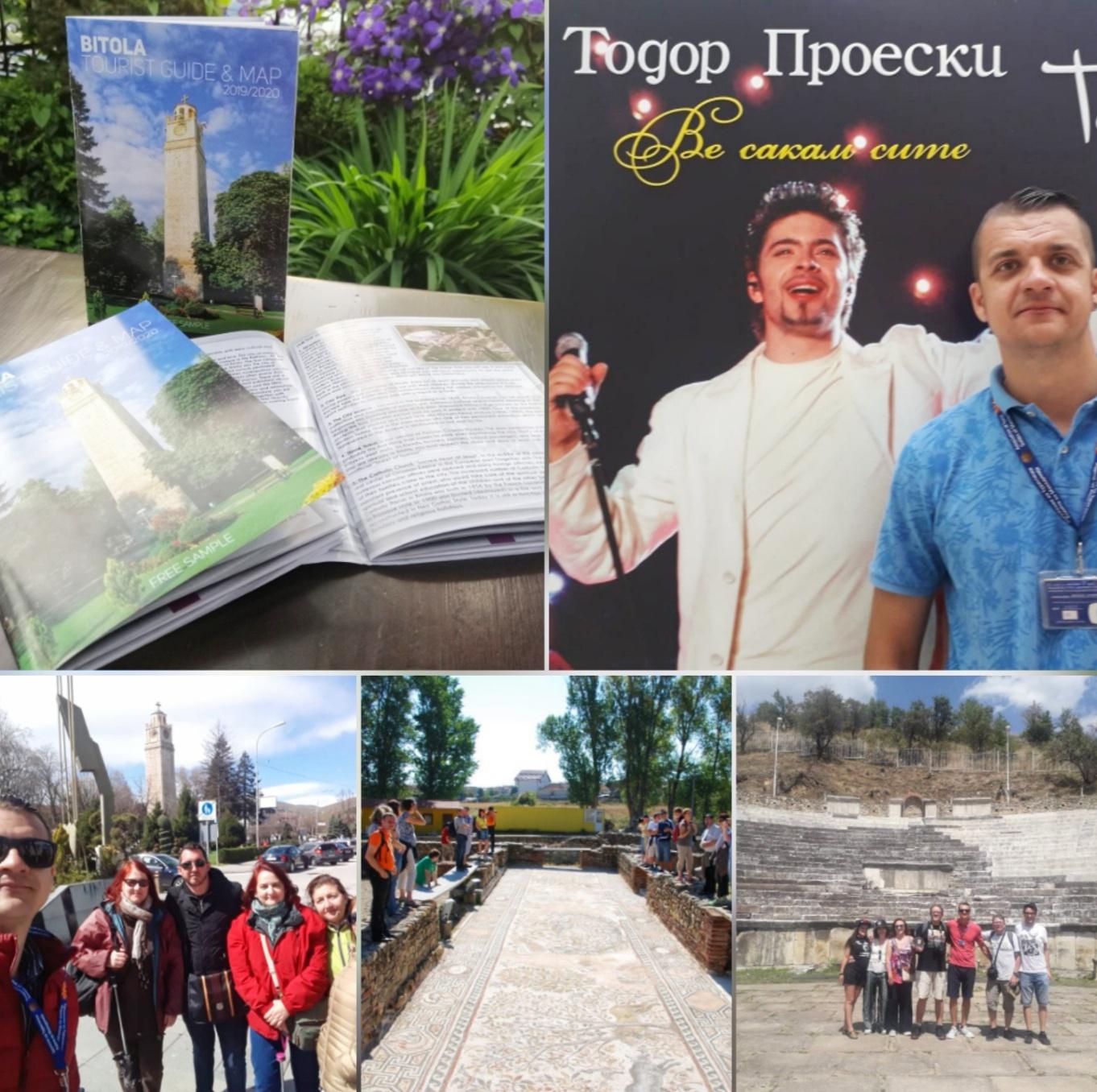 Горан Пинза, туристички водич и борец за враќање на изгубениот сјај на Битола
