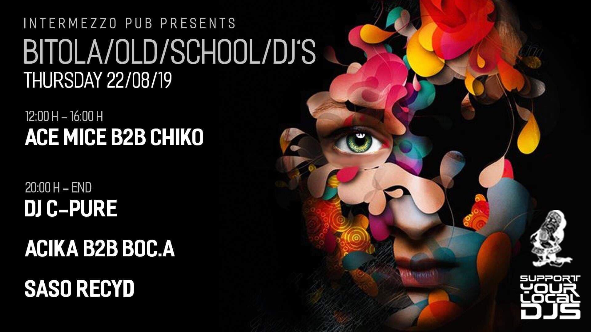 Bitola/ Old/ School/ DJ's градска забава за сите генерации!