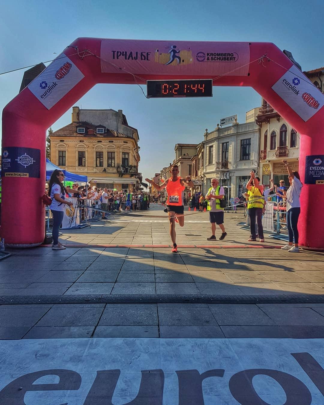 """Нашата нова тркачка легенда Кристијан Стојани со освоено прво место на денешната градска """"ТРЧАЈ БЕ"""" трка"""