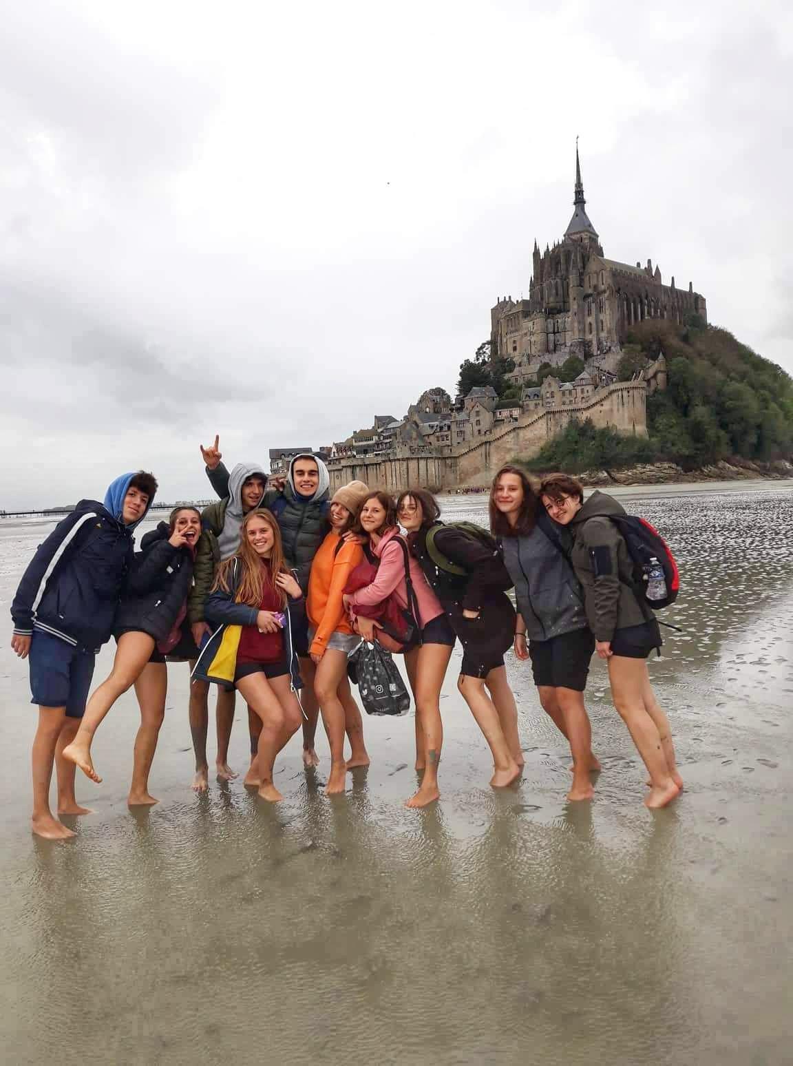 Последните денови од престојот на битолските гимназијалци во Франција