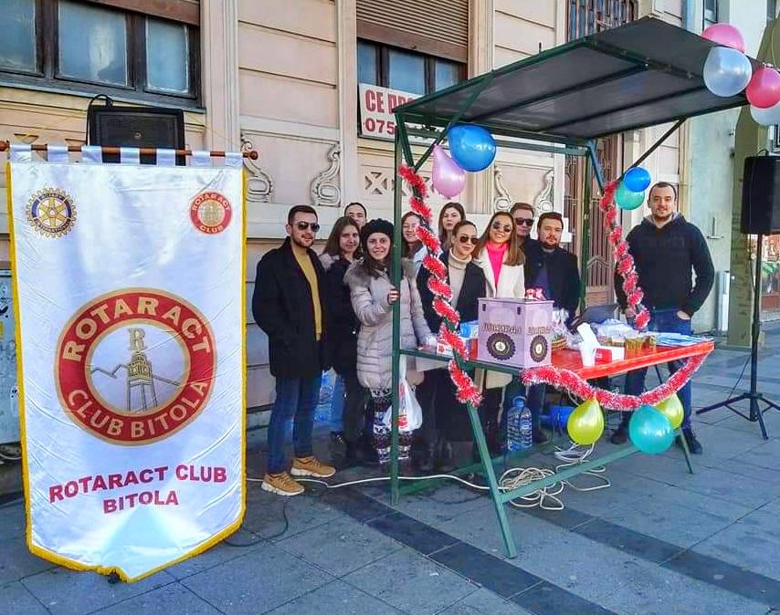 Денес на Магнолија имаше топол чај за сите од Ротаракт Клубот Битола