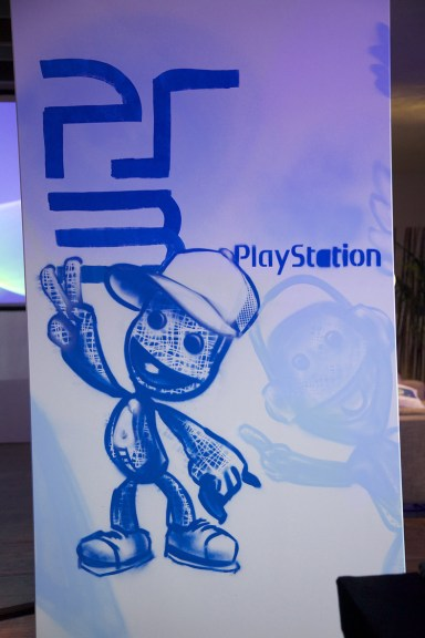 Artwork for Sony PlayStation Brandspace München Munich 2013