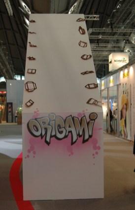 Live Graffiti your name at fair Paperworld, Frankfurt 2009
