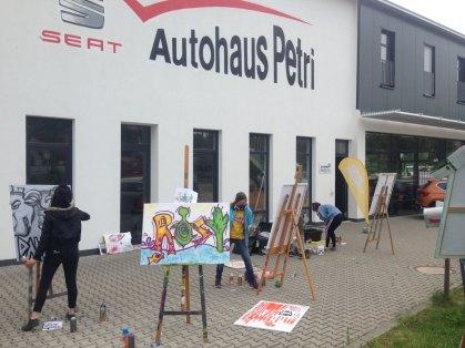 Jochen-Schweizer Graffiti Workshop
