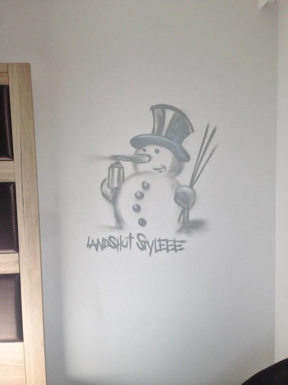 Landshut Styleee, Schneemann/snowmanMichel Hotel Landshut , 2018