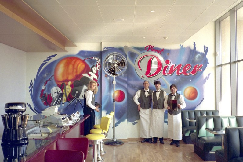 Planet Diner 1994 Kinopolis, Main-Taunus-Zentrum 1994
