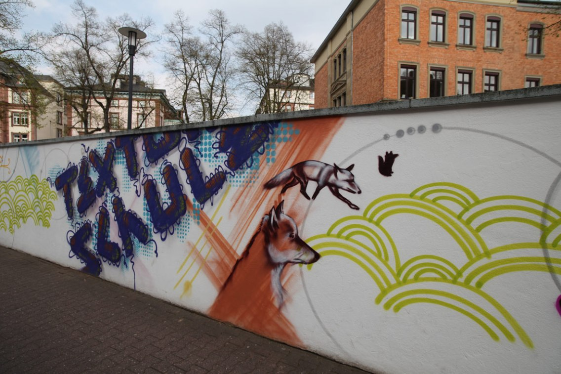 Textorschule Europaschule Fassade Socialday 2019