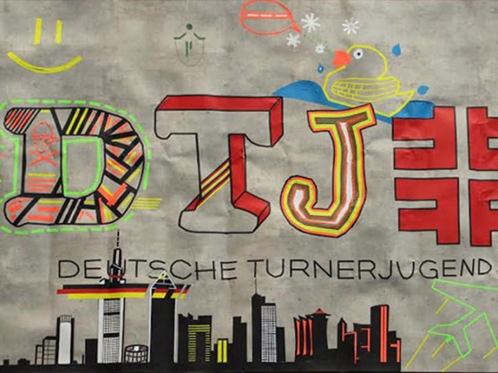 Tape Art Workshop DTJ Deutsche Turner Jugend 2014