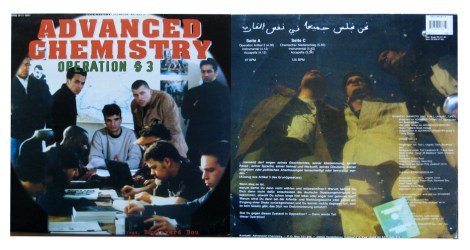 Advanced Chemistry - Operation § 3 12 inch Vinyl cover artwork 1994