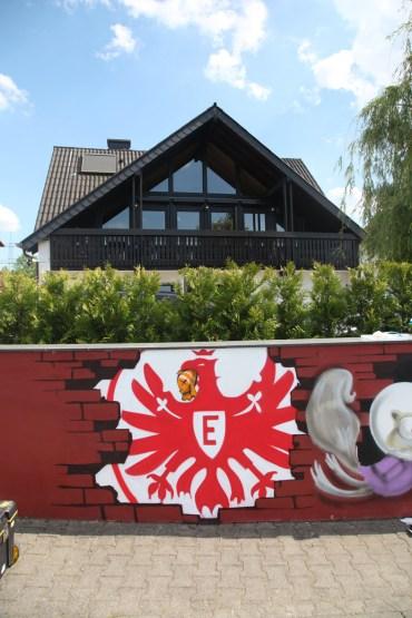 SGE Logo Eintracht Adler Druckerei Weinreich Schöneck 2014