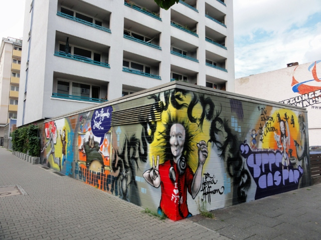 Struwwelpeter Motive Ringelstraße, Bornheim