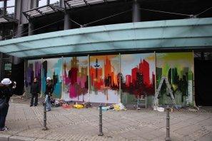 Live Graffiti Art, Wolkenkratzer Festival Hitradio FFH, 2013