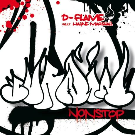 D-Flame - Burnin nonstop CD Cover artwork 2006
