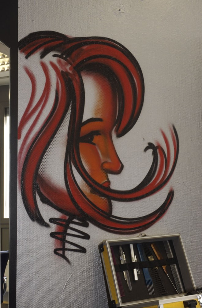 Hairkiller Wandgestaltungen