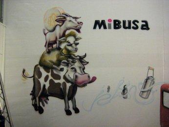 Mibusa Milch Butter Sahne