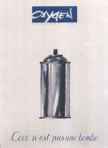 Ceci n'est pas une bombe, Oxygen folder 1996