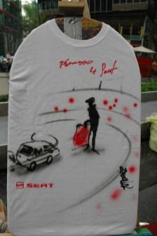 picasso @ Live Street Art Airbrushing für SEAT © SONY Center Potsdamer Platz, 2012
