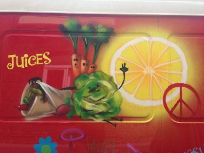 Foodtruck Juices & more, 2016