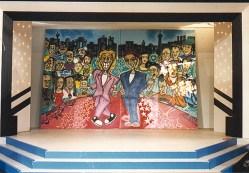 Alle Bühnenhintergründe für »Die 2 im Zweiten« Thomas Gottschalk & Günther Jauch, feat. Sven Christ / KatmandoZDF, IFA Berlin 1991