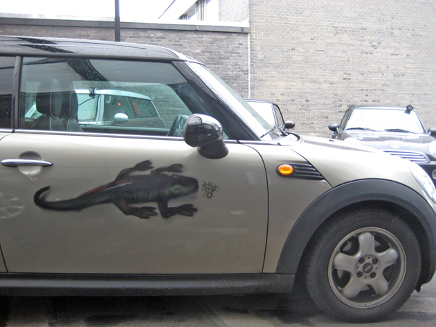 Mini Cartattoo BMW Euler 2009