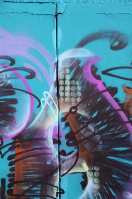 Letter A Graffiti art 2015