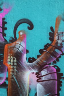 Letter K Graffiti art 2015