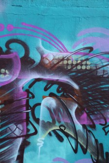 Letter R Graffiti art 2015