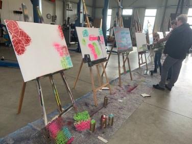 Urban Art Spray Workshop