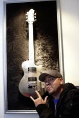 Hagström Gitarre Special Artist cooperation 2009