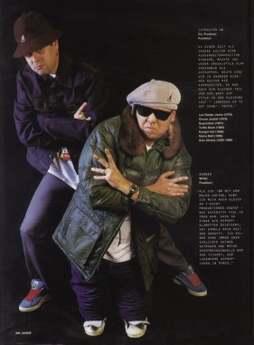 Juice Hip Hop Magazin 03-2002 Seite 92 + 93© photo: Florian Maucher, München