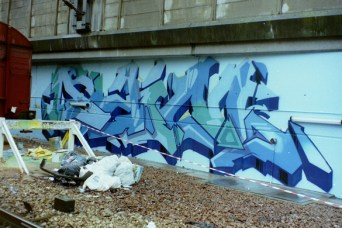 Daim style by Daim @ Paris Gare du Nord 1994
