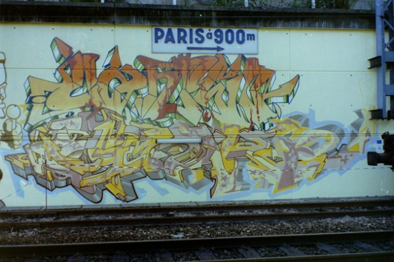 Cantwo & Gor style @ Paris Gare du Nord 1994