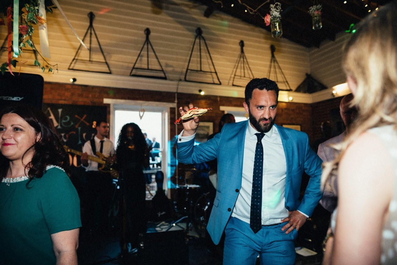 Fun dancing Kent wedding BABB Photo