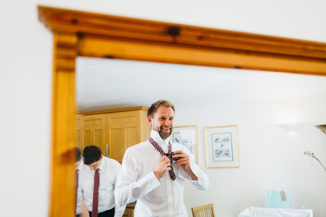 James Personal Tailors groom pre-wedding