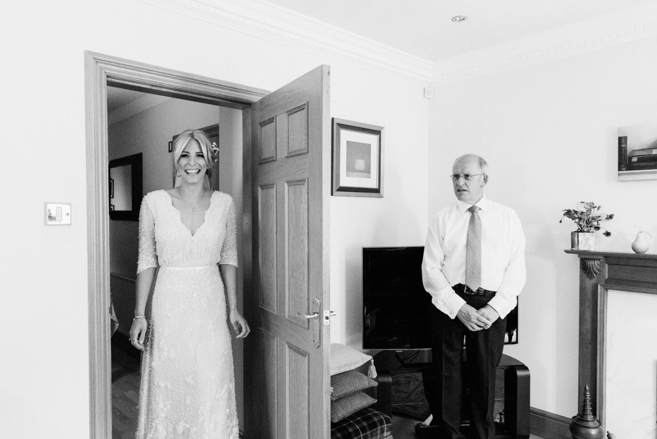 Emma Beaumont bride & Father BABB photo